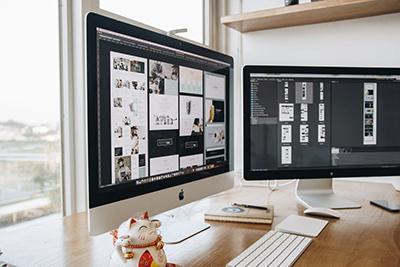 dos monitores - Blog